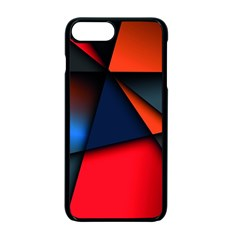 3d And Abstract Apple iPhone 7 Plus Seamless Case (Black)