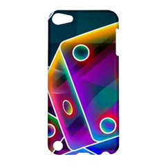 3d Cube Dice Neon Apple iPod Touch 5 Hardshell Case