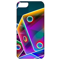3d Cube Dice Neon Apple iPhone 5 Classic Hardshell Case
