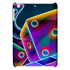 3d Cube Dice Neon Apple iPad Mini Hardshell Case