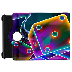 3d Cube Dice Neon Kindle Fire HD 7