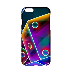 3d Cube Dice Neon Apple iPhone 6/6S Hardshell Case