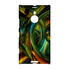 3d Transparent Glass Shapes Mixture Of Dark Yellow Green Glass Mixture Artistic Glassworks Nokia Lumia 1520