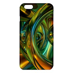 3d Transparent Glass Shapes Mixture Of Dark Yellow Green Glass Mixture Artistic Glassworks Iphone 6 Plus/6s Plus Tpu Case