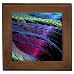 Abstract Satin Framed Tiles