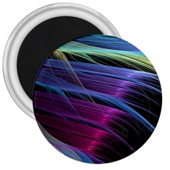 Abstract Satin 3  Magnets
