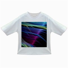 Abstract Satin Infant/Toddler T-Shirts