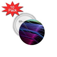 Abstract Satin 1.75  Buttons (10 pack)