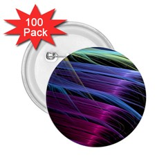 Abstract Satin 2.25  Buttons (100 pack)