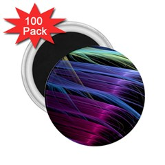 Abstract Satin 2.25  Magnets (100 pack)