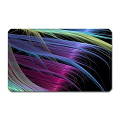 Abstract Satin Magnet (Rectangular)