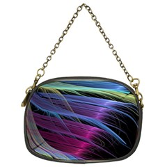 Abstract Satin Chain Purses (one Side)
