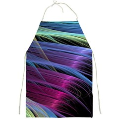 Abstract Satin Full Print Aprons