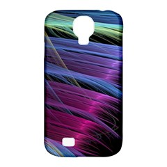 Abstract Satin Samsung Galaxy S4 Classic Hardshell Case (pc+silicone)