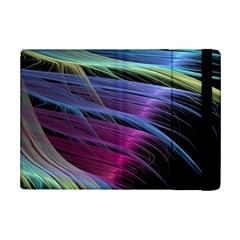 Abstract Satin Ipad Mini 2 Flip Cases