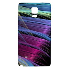 Abstract Satin Galaxy Note 4 Back Case