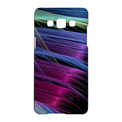 Abstract Satin Samsung Galaxy A5 Hardshell Case