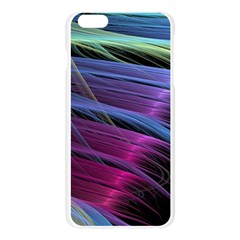 Abstract Satin Apple Seamless iPhone 6 Plus/6S Plus Case (Transparent)