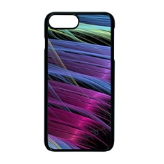 Abstract Satin Apple iPhone 7 Plus Seamless Case (Black)