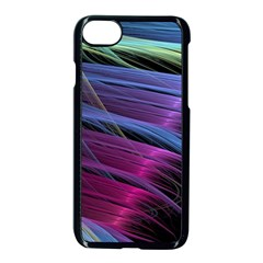 Abstract Satin Apple iPhone 7 Seamless Case (Black)