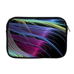 Abstract Satin Apple MacBook Pro 17  Zipper Case