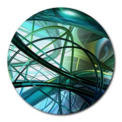Abstract Round Mousepads