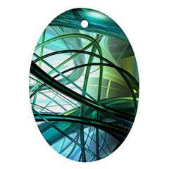 Abstract Ornament (Oval)