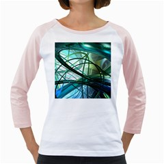 Abstract Girly Raglans