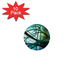 Abstract 1  Mini Buttons (10 pack)