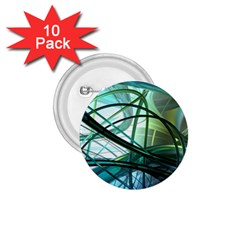 Abstract 1.75  Buttons (10 pack)