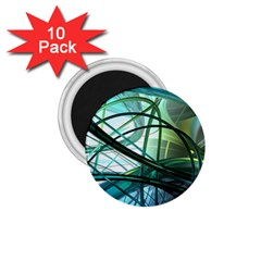 Abstract 1.75  Magnets (10 pack)