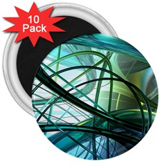 Abstract 3  Magnets (10 pack)