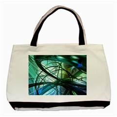 Abstract Basic Tote Bag (two Sides)