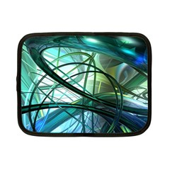 Abstract Netbook Case (small)