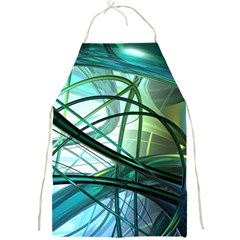 Abstract Full Print Aprons