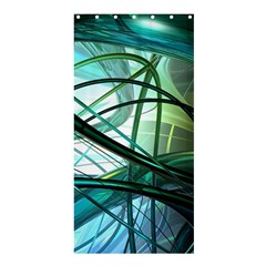Abstract Shower Curtain 36  X 72  (stall)