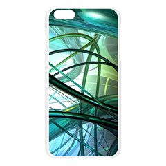 Abstract Apple Seamless iPhone 6 Plus/6S Plus Case (Transparent)