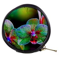 Alien Orchids Floral Art Photograph Mini Makeup Bags