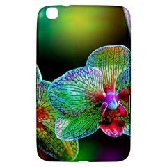 Alien Orchids Floral Art Photograph Samsung Galaxy Tab 3 (8 ) T3100 Hardshell Case