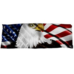 American Eagle Flag Sticker Symbol Of The Americans Body Pillow Case Dakimakura (two Sides)