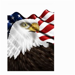 American Eagle Flag Sticker Symbol Of The Americans Small Garden Flag (two Sides)