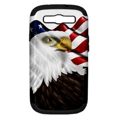 American Eagle Flag Sticker Symbol Of The Americans Samsung Galaxy S Iii Hardshell Case (pc+silicone)