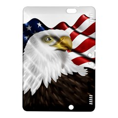 American Eagle Flag Sticker Symbol Of The Americans Kindle Fire Hdx 8 9  Hardshell Case