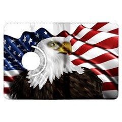 American Eagle Flag Sticker Symbol Of The Americans Kindle Fire Hdx Flip 360 Case