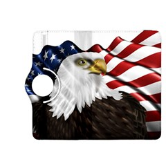 American Eagle Flag Sticker Symbol Of The Americans Kindle Fire Hdx 8 9  Flip 360 Case