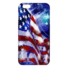 American Flag Red White Blue Fireworks Stars Independence Day iPhone 6 Plus/6S Plus TPU Case