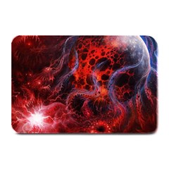 Art Space Abstract Red Line Plate Mats