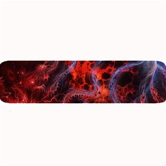 Art Space Abstract Red Line Large Bar Mats