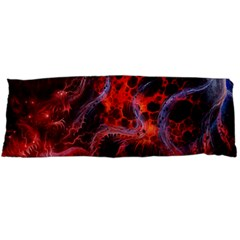 Art Space Abstract Red Line Body Pillow Case Dakimakura (two Sides)