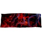 Art Space Abstract Red Line Body Pillow Case Dakimakura (Two Sides) Back